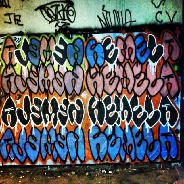 #bombstyle #graffiti #streetartrio #streetart #bomb #reverse #espelho