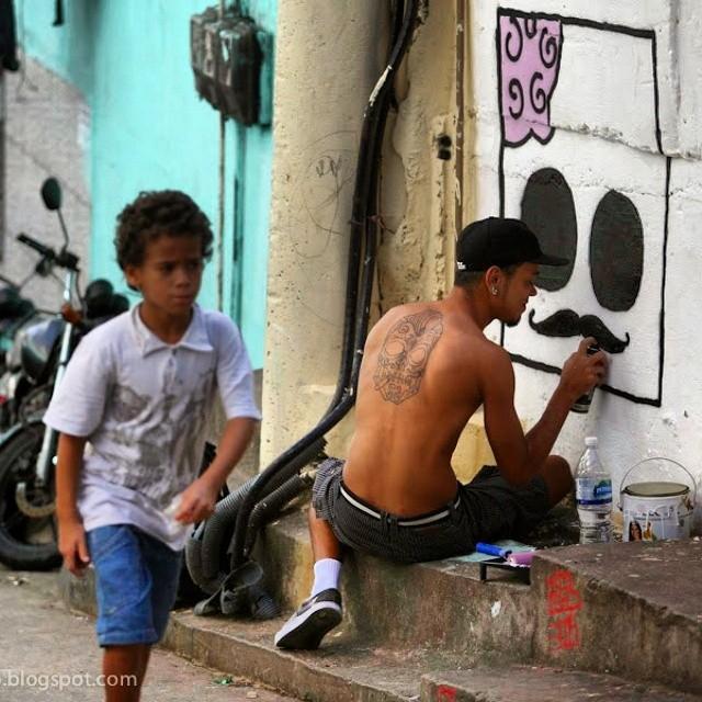 #graffiti #art #shinkt #rocinha