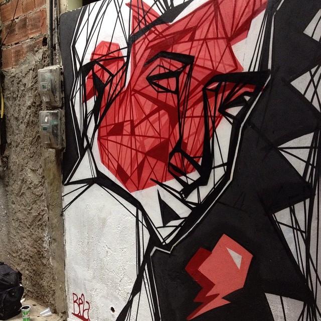 #graffiti #streetartrio #rocinha
