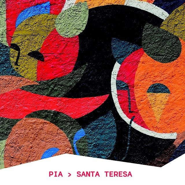 grafites das ruas da cidade estão na nossa identidade visual. este é do PIA, lá em Santa. #rioculturacarioca #instagrafite #streetartrio