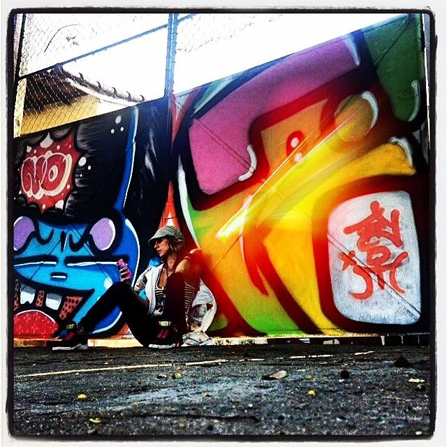 #light @marygirlstyle @sockppxi #djonereal #streetart #streetartrio #graffiti