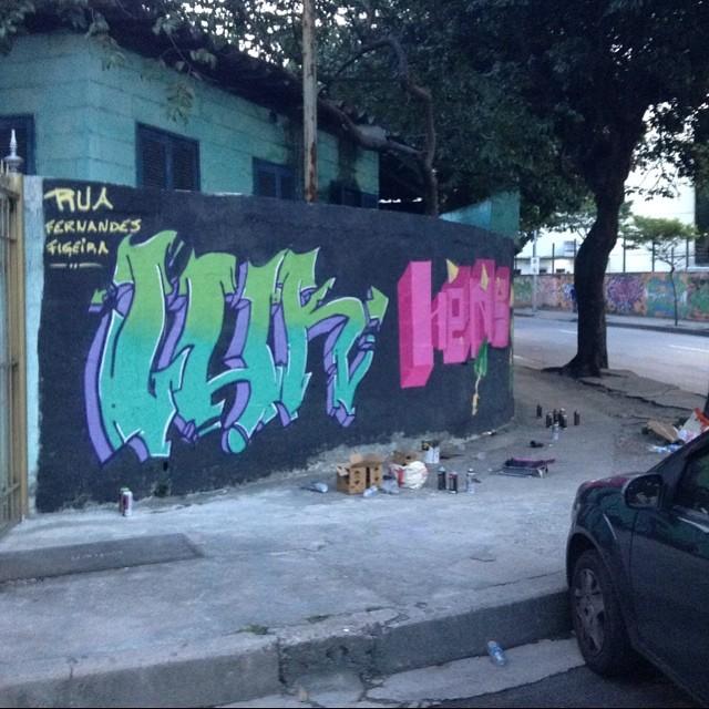 #luk #hens #fwc #streetartrio #graffitirj
