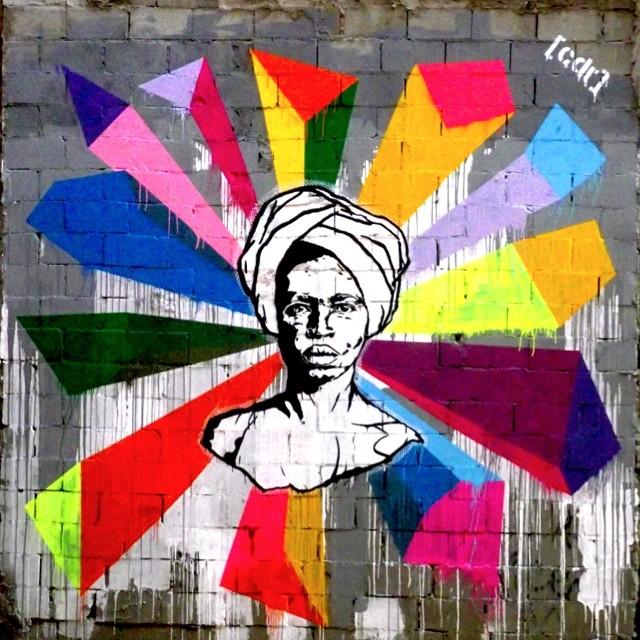 #negracomturbante #artrua2011 #stencil #streetart #streetartrio #foto@edsartori #gafitti #instagrafite