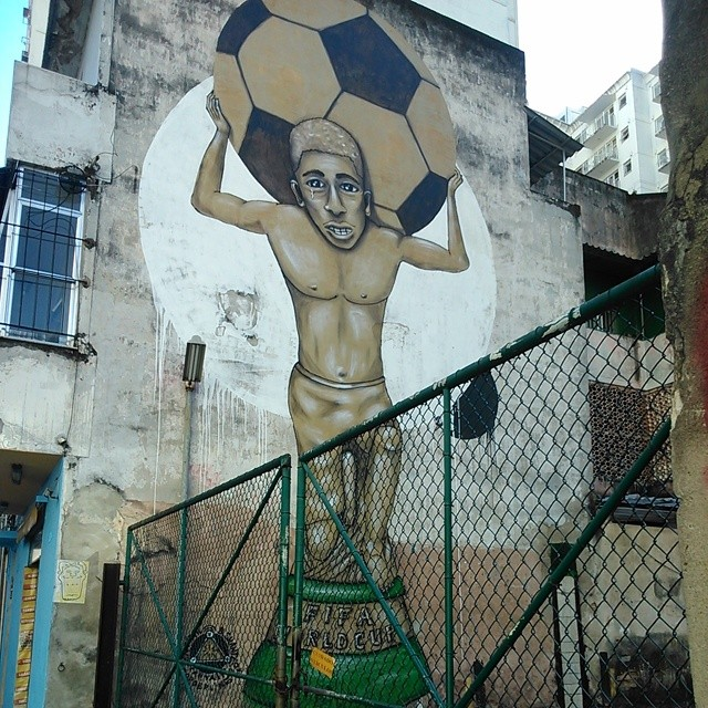 #vaitercopasim #streetartrio