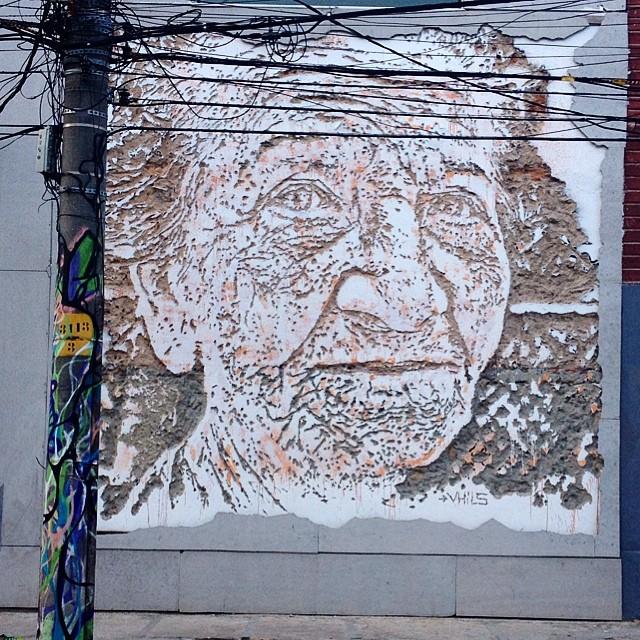 Eu achei simplesmente demais!  #Arte #Streetart #streetartrio #riodejaneiro #Botafogo #NasRuasdoRiodeJaneiro