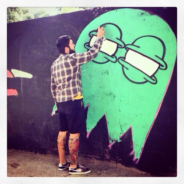 Making Of #trapacrew #streetartrio