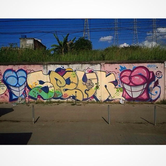Smuk x Harynk - Rabisco Criativo Crew. #StreetArtRio #graffiti
