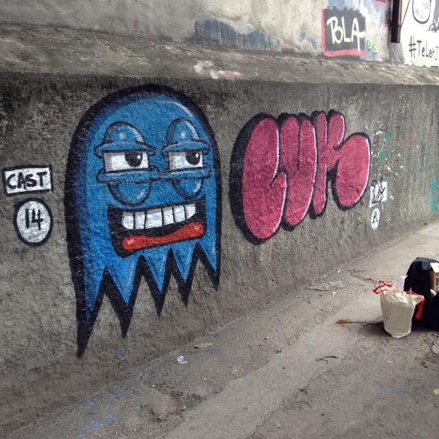 Yooooo,Cast e Luk! #streetartrio #graffrj #tijuca #tijuquistão #bomb #94 #mtnrio #throwup