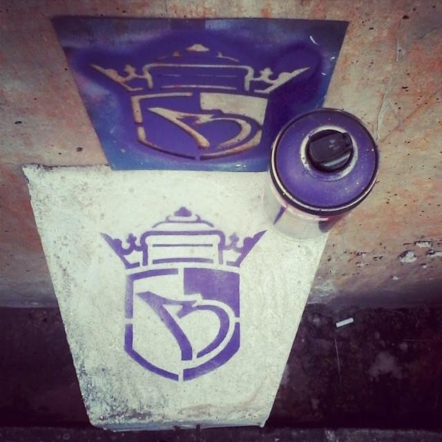 #sonbil #stencil #streetartrio #streetart #brazil Role chuvoso...