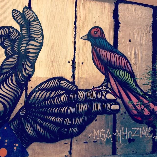 #viondeandei #streetart #streetartrio #artederua