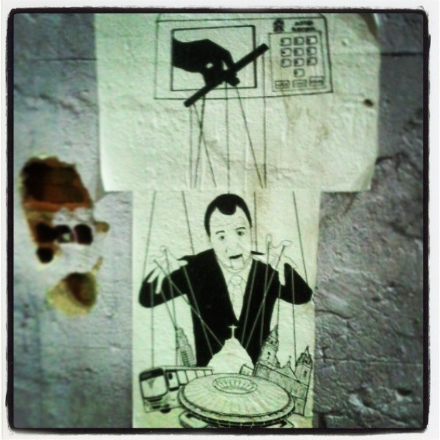 #рио #стритартРио #риоарт #марионетки #rio #streetartRio #rioart