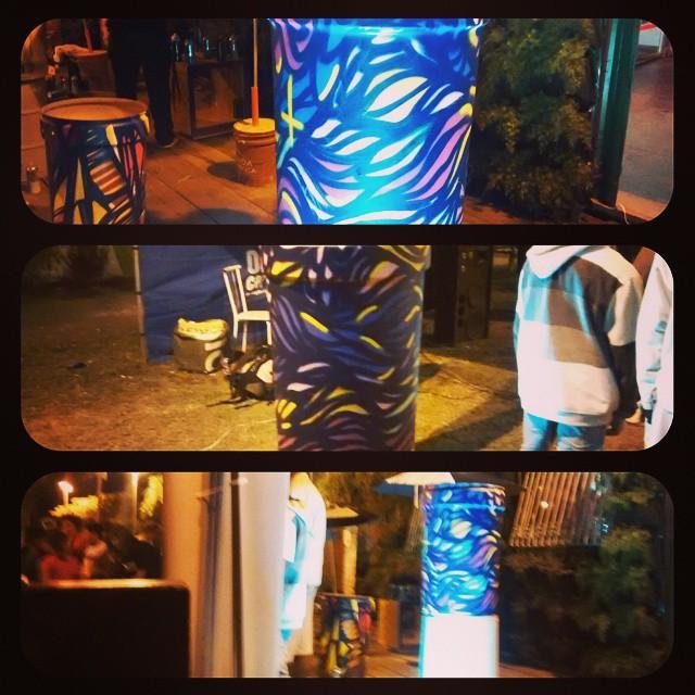 30/08 #streetartrio #streetart #graffiti