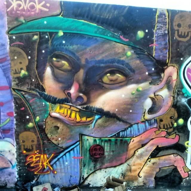 @rena_machado #kovokcrew #streetartrio #galeriaaceuaberto #ruasdazn #renakvk