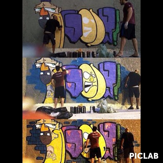 A Ruas tem muito a te dizer @rodrigogodoy_ #ruasdazn #artistasurbanoscrew #tagsandthrows #streetartrio #ilovebomb #streetstyle #instagraffiti #writers #graffitiwriters #streetwriters #bomb #noba630 #urbanart #artederua #suburbiocarioca #tintanosmuros 2014