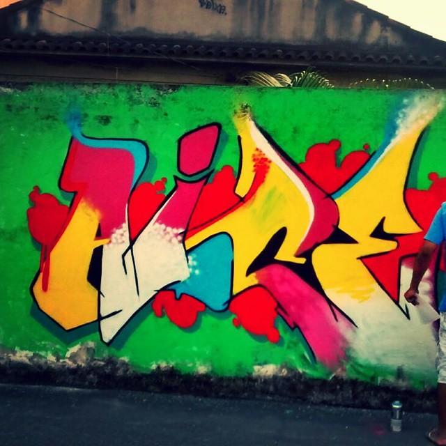 Aice... #graffiti #letters #leandromoura #leandroice #streetartrio #montanacolors #instagrafite