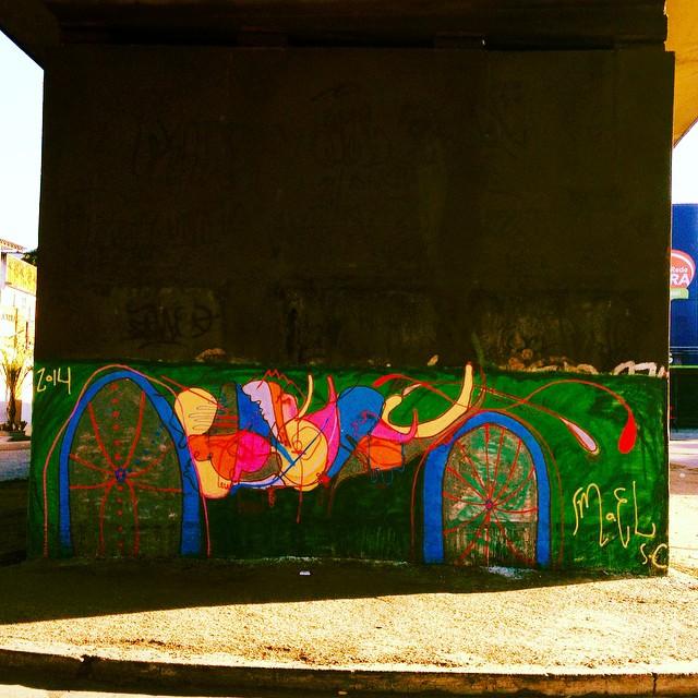 Bomber de domingo, Av. brasil, Penha. #graffiti #streetartrio #smael #smael13 #streetart