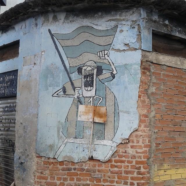 Copa do mundo de 19... #RUASDAZN #streetartrio #oldschool #ruinas