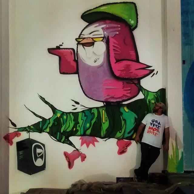 DEGASE em andamento amanhã termina ... Correções e adições estão por vir Graffiti amor e arte .... #biveselecta #bives #graffitirj #graff #instagraffiti #streetartrio #elninhocrew vive .........