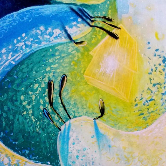 Detalhe mãos #degase #sonhos #streeart #streetartrio #painting #galeriaaceuaberto #novecinco #heitorcorrea