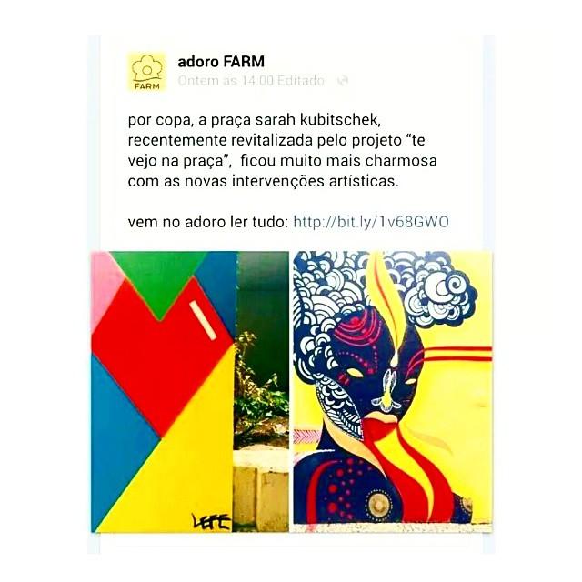 E ai a sua marca preferida posta o seu graffiti preferido, no pico preferido e no vandal à luz do dia mais cara de pau que vc já fez.  #tonoadorofarm #farm #criolabh #criolagraffiti #streetartrio
