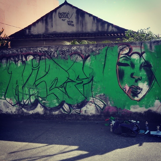 Fominha... #graffiti #ice #leandroice #streetartrio #crc