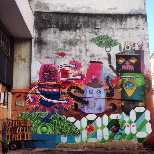 Graffiti at Lapa-Rio de Janeiro #graffiti #streetart #streetartrio #urbanart #lapa #riodejaneiro #brasil #nofilter