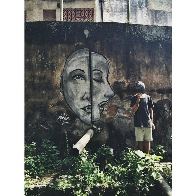 Hoje foi dia!  Mente Aberta • Favela dos Guararapes - Rio de Janeiro #streetartrio #instagrafite #pngone