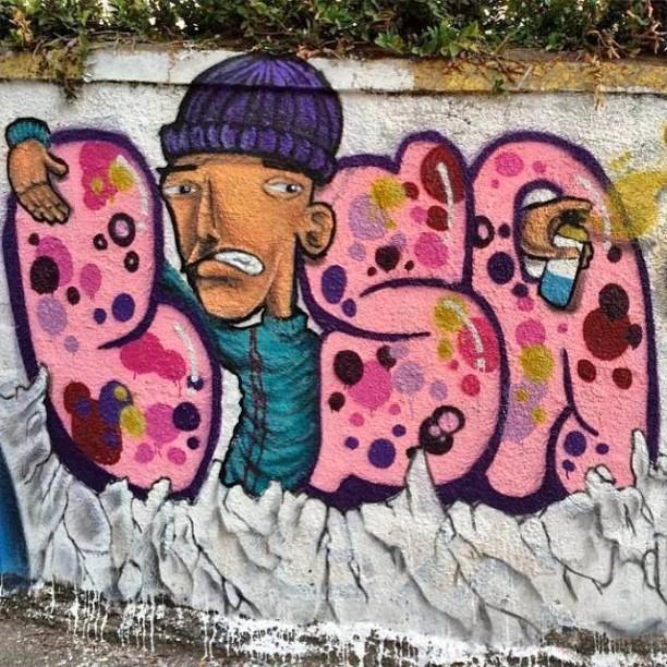 Lisa&Taro #DuoGraffiti #MyLove #Graffiti #InstaGrafite #StreetArt #GettingUp #ThrowUp #Letter #GraffitiLovers #StreetArtRio #RiodeJaneiro #Niteroi #ArteViva