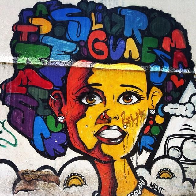 Mais um show de grafite do gênio, @marceloment !