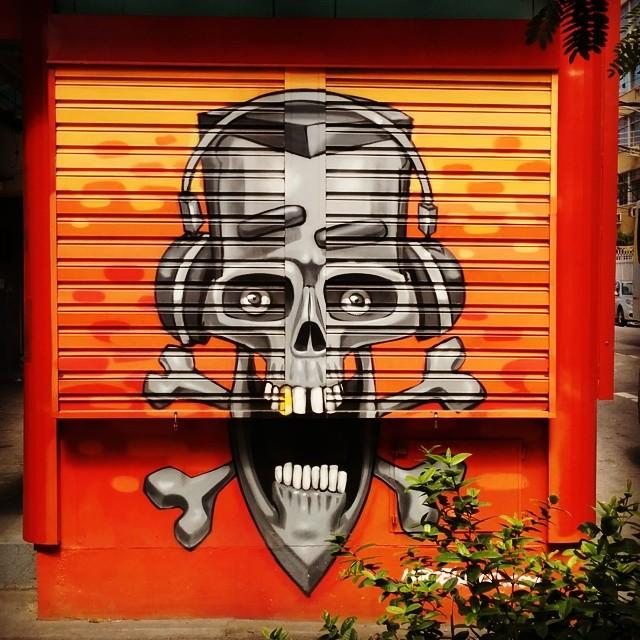 Mais uma do @marceloeco no Tijukistão #StreetArtRio