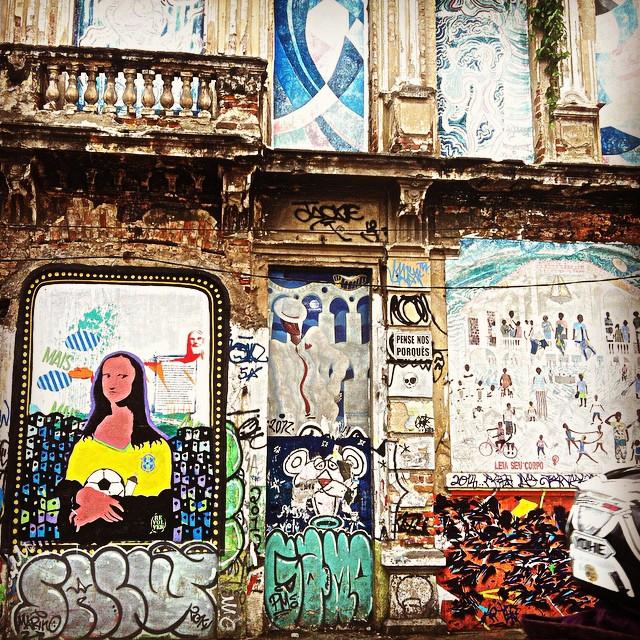 Mona Lisa versão brasileira.