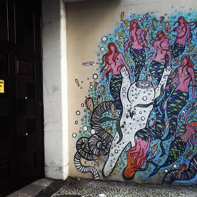 Muromar. #grafite #arteurbana