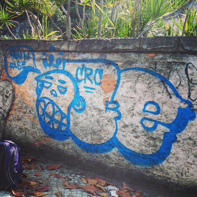 Nunca perca sua essência... #leandroice #bombing #trhowup #recreio #graffiti #streetartrio