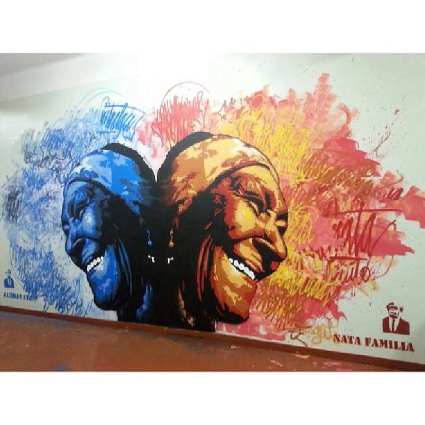 Ontem grande dia no Hotel e Spa da Loucura. Muito aprendizado com grandes mestres do grafite!! Muito obrigado pelo convite @carlosbobi !