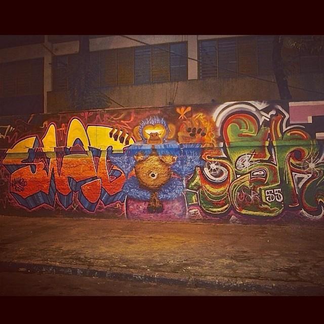 Painel55 #graffiti #55 #painel #jota #usr #swagone #macaco #monkey #art #ilovebombing #streetartrio