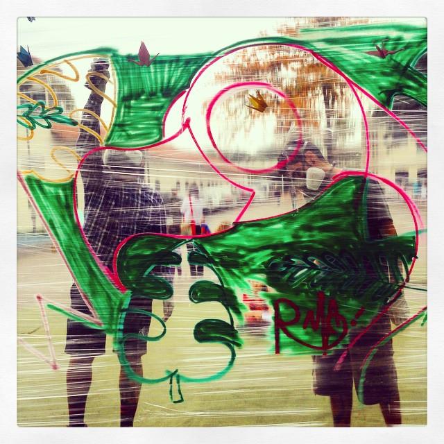 Pintando com o Rafa! #trapacrew #circuitomodacarioca #streetartrio
