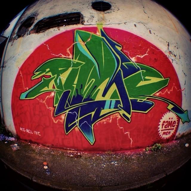 Relembrando ..... Pintura feita para o video da MTN . #graffiti #paint #streetart #streetartrio #tijuca #fame #fameone #betofame #mtn #letra #letter #Brasil #riodejaneiro