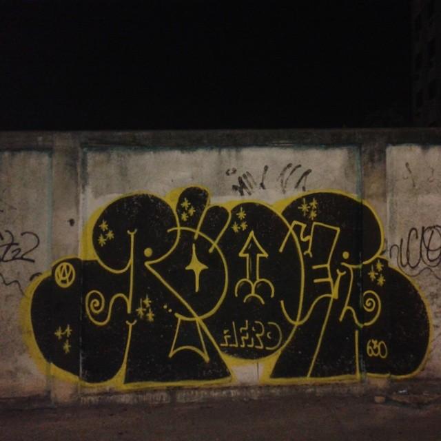 Sexta preta #ruasdazn #streetartrio #tagsandthrows #carreirasolo #artistasurbanoscrew