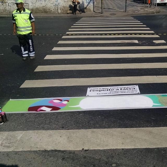 #artenafaixa #streetcomics #streetart #streetartrio #centro start now!
