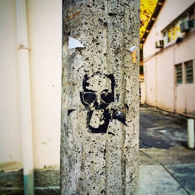 #cartola #samba #grafitti #grafittiart #arteurbana #ufrj #praiavermelha #urca #botafogo #riodejaneiro #igersrj #igersrio