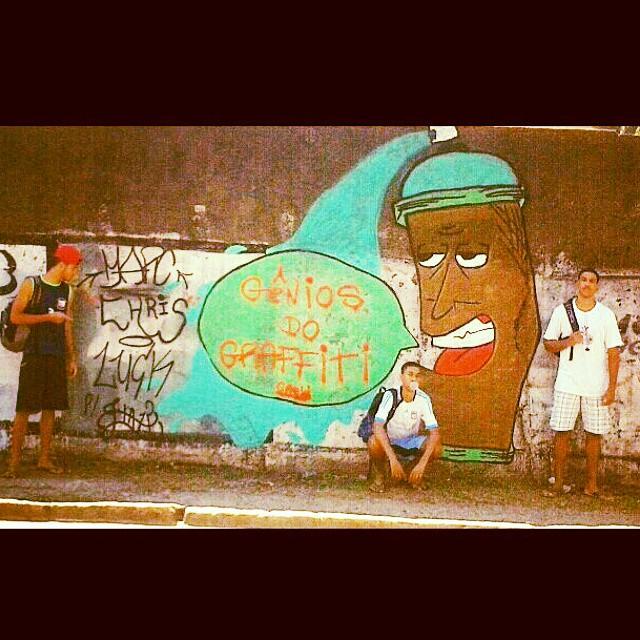 #graffiti #estaçao #aovivo #arteurbana #instagraffiti #StreetArtRio