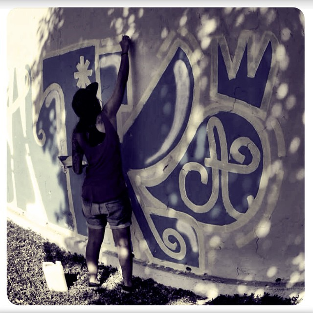 #graffiti #graffitiart #urbanart #streetart #instagraffiti #stencil #streetartsp #mtn94 #spray #montanacans #sprayart #artederua #arteurbana #throwup #xarpi #stickerart #blackbook #pixo #spraycan #graffitiwall #stickerslap #instagrafite #design #vandal #grapixo #ironlak #cartoon #sketch #krink #streetartrio