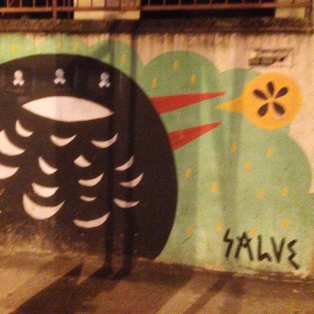 #graffiti #streetart #streetartrio #urbanart #salve #nofilter #riodejaneiro #maracana #brazil