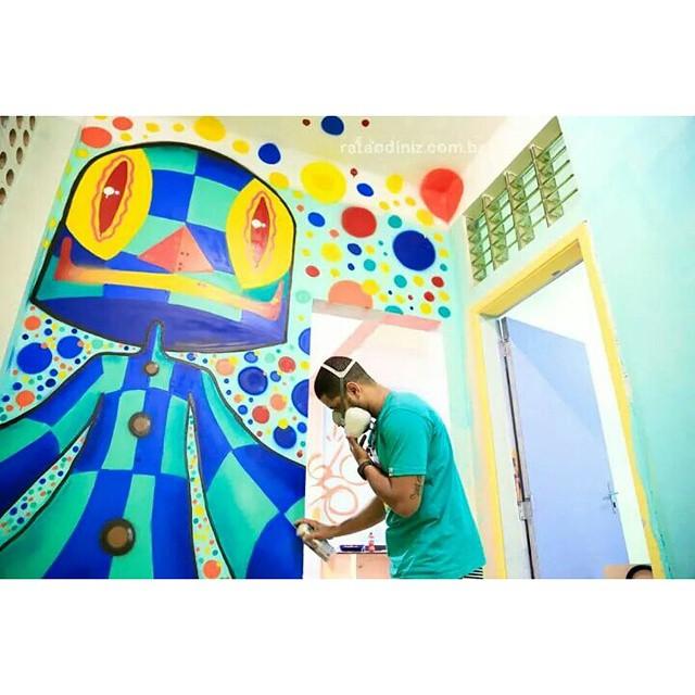 #hoteldaloucura #kaduori #graffiti #grafite #urbanart #instagrafite #mtn94 #kobra #arteurbana #streetartrio #streetart #cores #personagens