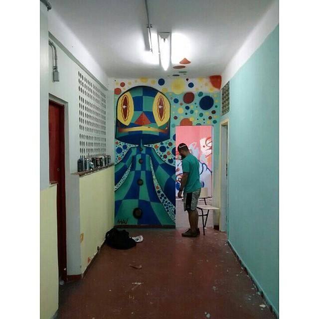 #hoteldaloucura #kaduori #grafite #graffiti #instagrafite #arteurbana #art #streetartrio #streetart #culturaderua #kobra #mtn94 #urbanart