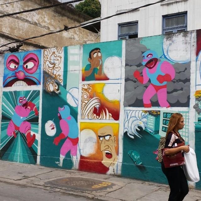 #streetcomics #muchoamor #characterdesign #barbeiro #streetartrio #streetart