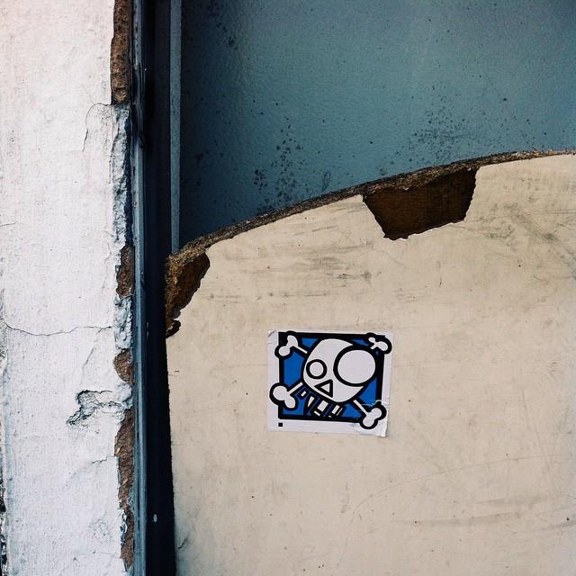 #vscocam #vscocam #sticker #arte #streetart #tijuca #zonanorte #shn #streetartrio