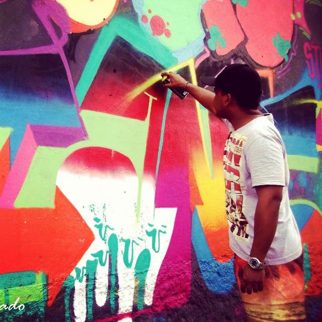 Açao #Giant #letras #Cores #KlanD #TodoDiaRabiscando #streetartrio #ruasdazn #caminhosdecascadura #RioDeJaneiro
