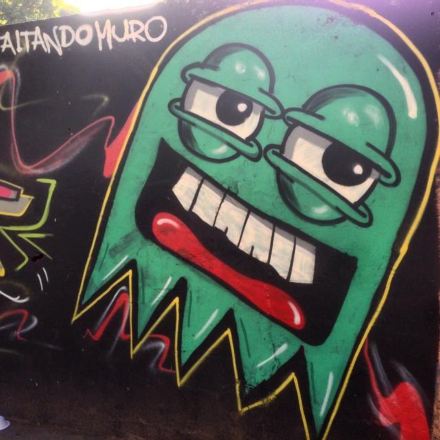 Art by @castilhokst #fantasma #graffiti #streetart #streetartrio #urbanart #nofilter #tijuca #riodejanerio #brazil