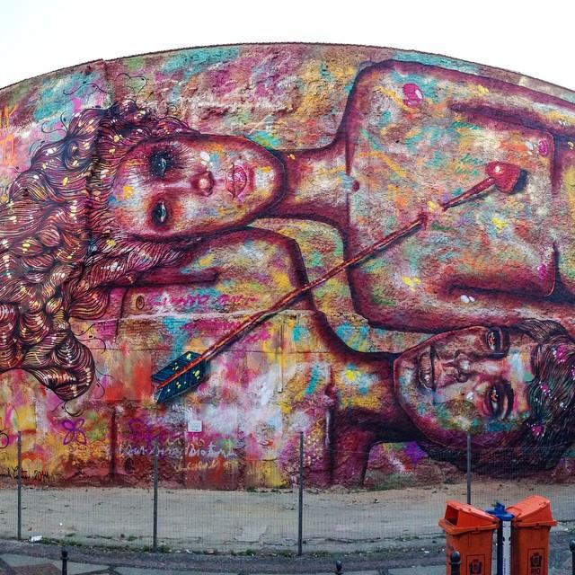 Arte de Rua na Lapa, Rua do Lavradio de Panmela Castro - Rio de Janeiro.   Photo: Alexandre Macieira    Conheça o @ArteRuaRio #ArteRuaRio #PanmelaCastro   #RioDeJaneiro #Macieira